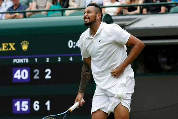 Kyrgios pulled out of Wimbledon with an injury, and has now confirmed his withdrawal from the Tokyo Olympics