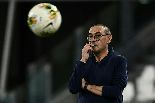 Maurizio Sarri won trophies with Chelsea and Juventus.