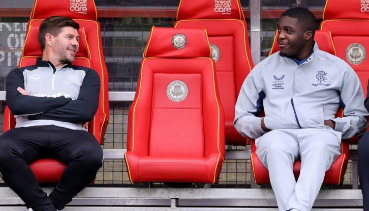 Steven Gerrard says medical scans revealed a 'red flag' in Nnamdi Ofoborh's heart test