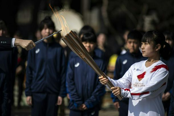 The nationwide torch relay has been fraught with problems since it began in March
