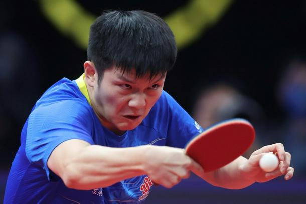 World number one Fan Zhendong will lead China's table tennis challenge in the men's singles
