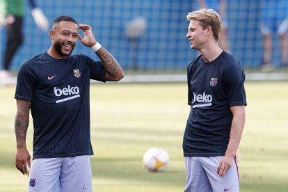 Frenkie de Jong and Memphis Depay offer Barcelona fitness boost ahead of Getafe clash