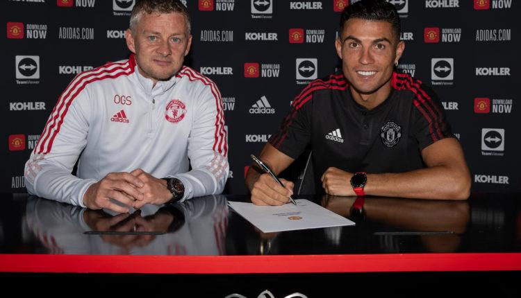 Ronaldo signs